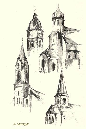 Kirchen in Lustadt